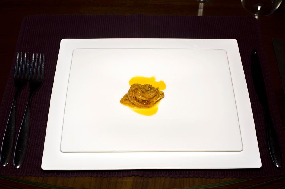 Spaghetti di patate al succo di datterini 07