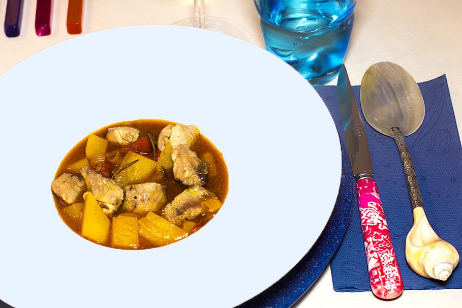 Zuppa di tonno e patate 06