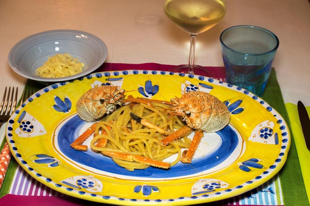Spaghettoni con la granseola 16