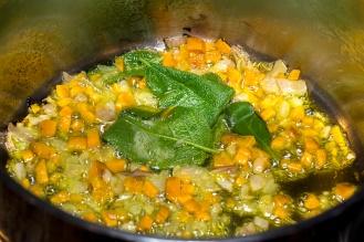 Zuppa di fagioli e lupini 08