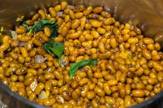 Zuppa di fagioli e lupini 10