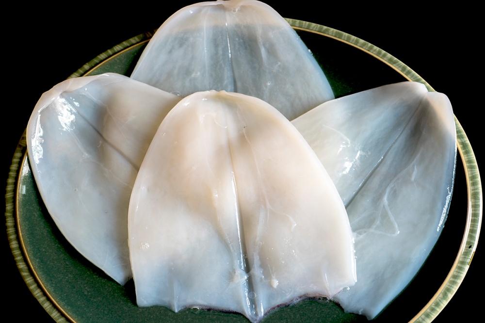 Fettuccine di calamaro con la colatura di alici 07