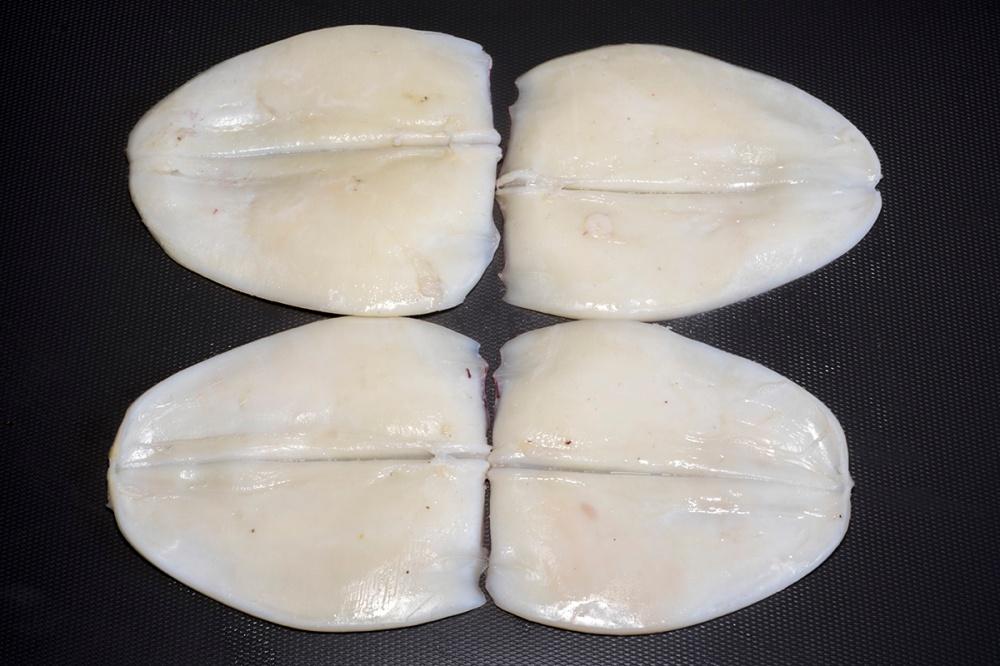 Fettuccine di calamaro con la colatura di alici 14